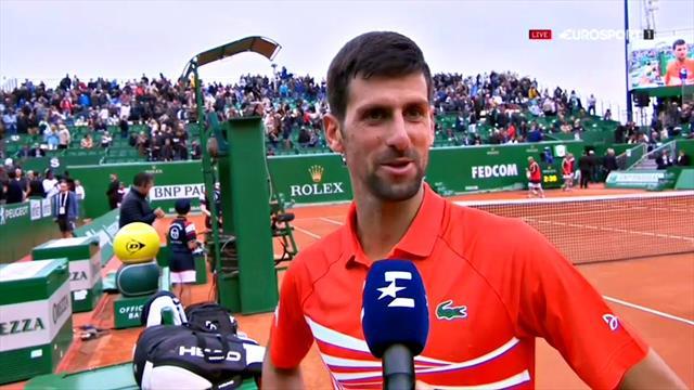 """Djokovic : """"Beaucoup de hauts et de bas mais une victoire est une victoire"""""""