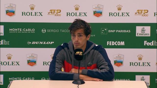 """Monte-Carlo - Herbert : """"Je peux m'appuyer sur ce bon match"""""""