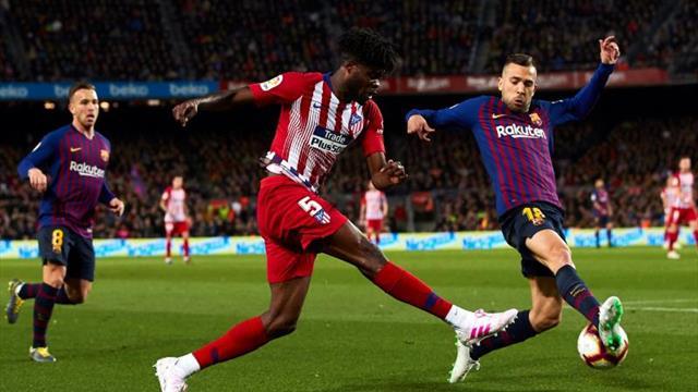 """Thomas cree que el Atlético necesitará """"un partidazo"""" para ganar en Eibar"""