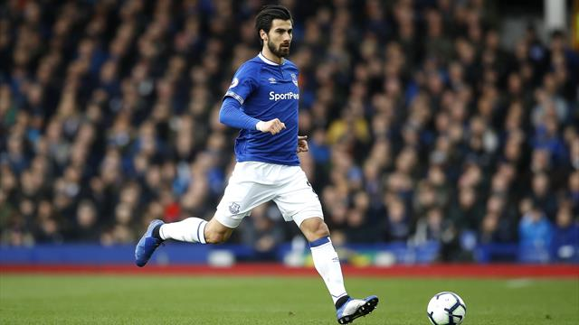 Everton midfielder Andre Gomes given three-match ban