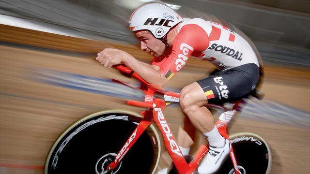 Magische Marke gefallen: Campenaerts bricht Wiggins' Stundenweltrekord