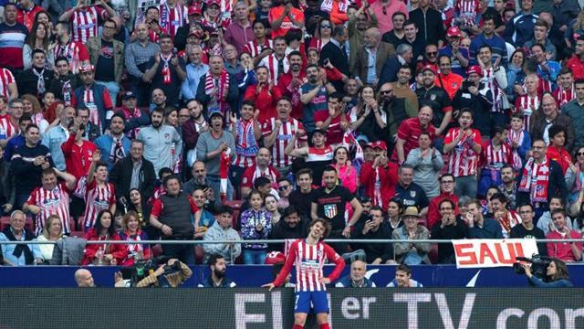 Griezmann, entre los ocho jugadores que perderán próxima jornada por sanción