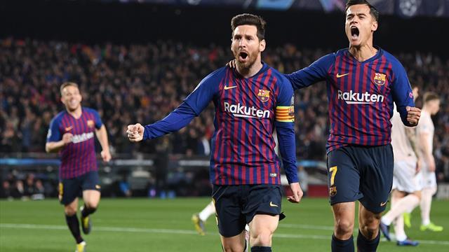 Le pagelle di Barcellona-Manchester United 3-0: Messi leggendario, Coutinho torna grande