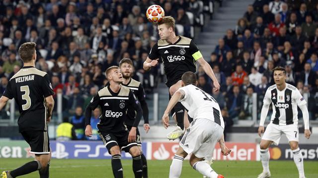 Juventus-Ajax in Diretta tv e Live-Streaming