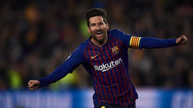 Barcellona: Messi fa 600 con la maglia blaugrana