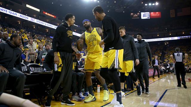 NBA: Warriors-Center Cousins droht Saisonaus