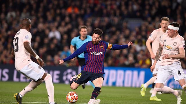 Überragender Messi beendet ManUniteds Titelhoffnungen