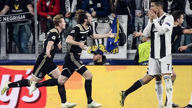 Champions League (Cuartos, vuelta), Juventus-Ajax: Divina juventud (1-2, global 2-3)