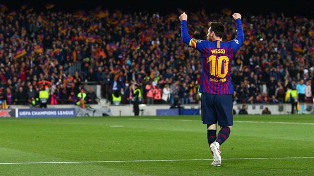 Doppelpack Messi: Barça düpiert United und zieht ins Halbfinale ein