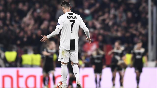 Il fallimento della Juventus e di Ronaldo: il portoghese resta fuori dalle semifinali dopo 9 anni
