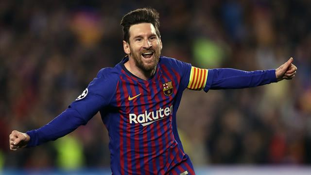 Lionel Messi stars as Barcelona dump Manchester United out of Champions League