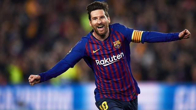 Messi puts United back in their box as Barca fans revel in Ronaldo misery