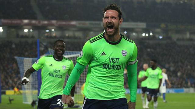 Cardiff win at Brighton in key relegation duel
