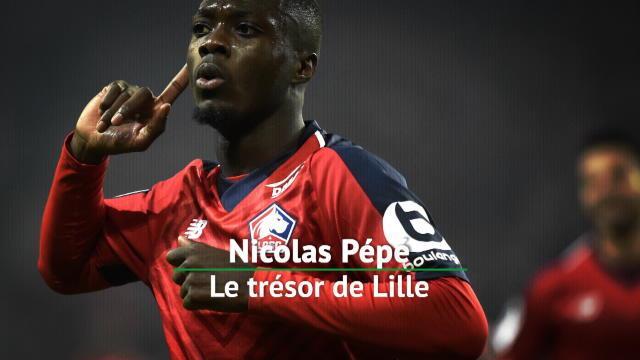 Ligue 1 - Nicolas Pépé, le trésor de Lille