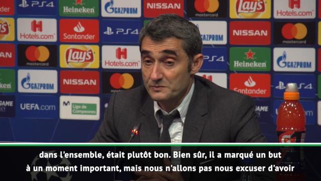 """Valverde : """"Nous n'allons pas nous excuser d'avoir Messi"""""""