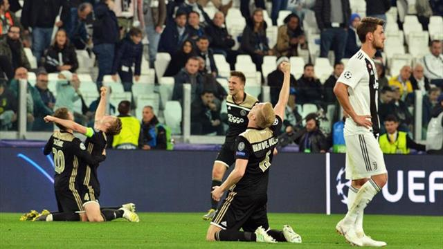 1-2. El Ajax destrona a Cristiano con otra obra maestra