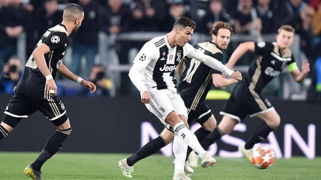 Eliminatoria igualada al descanso en el Juventus Stadium (1-1)
