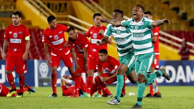 0-0. La Equidad vence en penaltis a Independiente y pasa a segunda fase