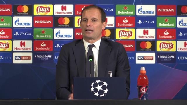 """Allegri: """"Tutti hanno detto arriva Ronaldo e si vince la Champions, ma non vince solo la Juventus"""""""