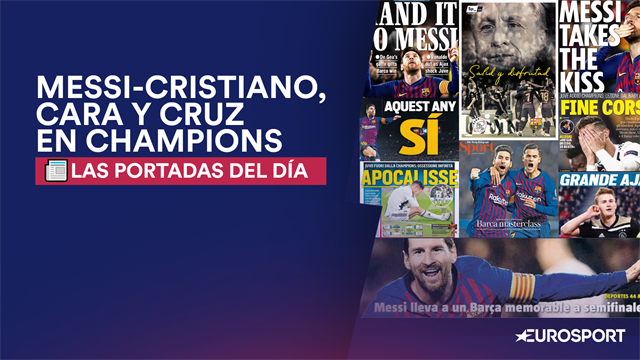 Portadas del Día: Messi-Cristiano, cara y cruz en Champions