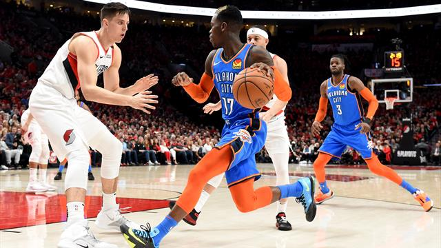 NBA: Schröder und Oklahoma verlieren auch zweites Play-off-Spiel