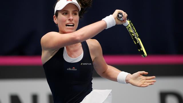 Jo Durie thinks Britain will be feeling Fed Cup pressure this week