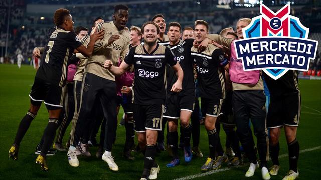 L'Ajax va-t-elle faire sauter la banque cet été ? On en a parlé dans Mercredi Mercato