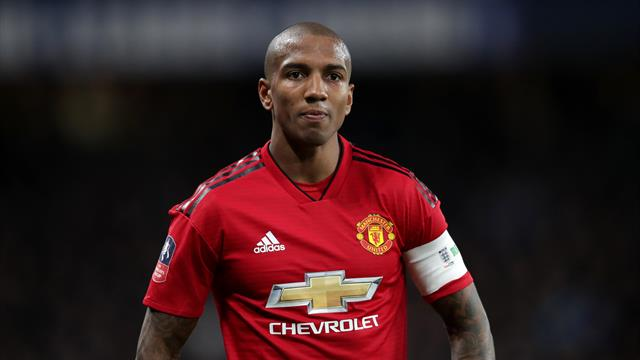 Ashley Young targeted by racially abusive tweets after Man Utd Euro exit