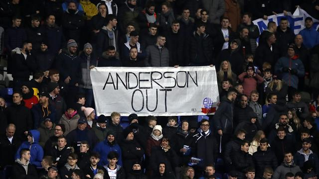 Bolton chairman Ken Anderson says potential buyers 'did not have the cash'