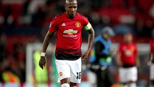 Manchester United condemn racial abuse of Ashley Young