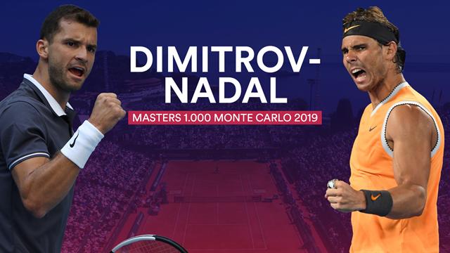 Masters Monte Carlo 2019, Dimitrov-Nadal: Buscando la victoria 70