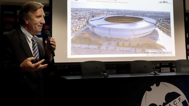 El balón podría botar en el futuro Mestalla tras 15 años de la primera piedra