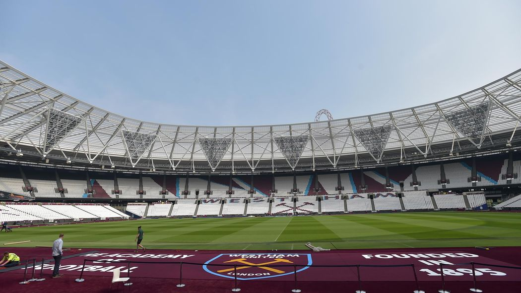 How Long Is A Football Pitch >> Long Awaited Claret Pitch Surround Installed At London
