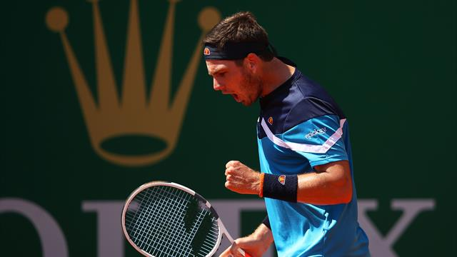 GB's Norrie reaches Monte Carlo quarters, Nadal through