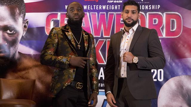 Amir Khan knows he has a big challenge on his hands against Terence Crawford