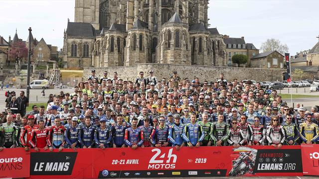 The 24 Heures Motos in the heart of Le Mans