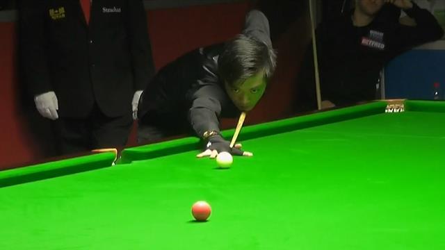 WK Sheffield | Luo Honghao door mooie clearance naar Crucible
