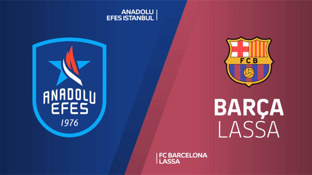 Highlights: Anadolu Efes Istanbul-Barcellona Lassa 75-68