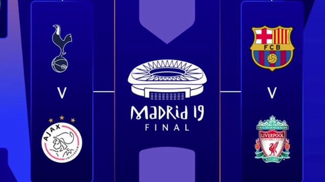fábrica incomparable bonita y colorida Champions League: Barça-Liverpool y Tottenham-Ajax completan ...