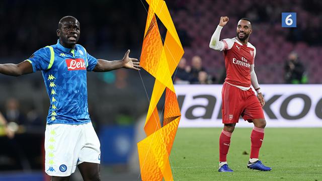 Highlights: Lacazettes frisparksperle sikrede Arsenal videre avancement i Napoli