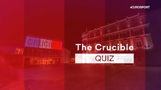 The Re-Rack: 'It wasn't me was it?' Players take on our Crucible quiz