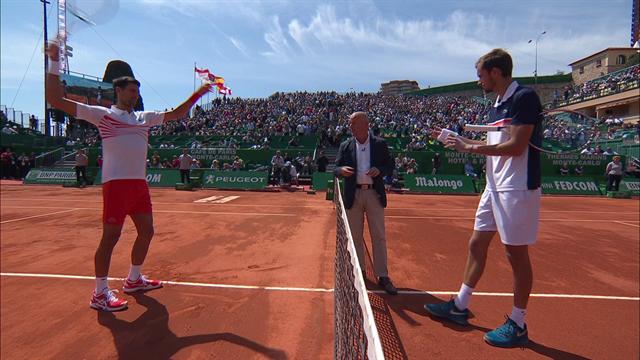 Джокович поджег подошвы Медведеву укороченными, но это лишь окрылило русского теннисиста
