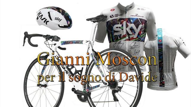 Moscon, bici all'asta per costruire una fattoria in Kenya: era il sogno del suo amico deceduto