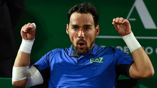 Tennis: Atp, Fognini è 12/o, best ranking, comanda Djokovic