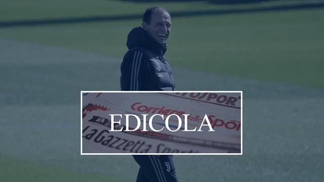Edicola: Zidane si gioca il Real Madrid a Siviglia, spunta anche il nome di Allegri