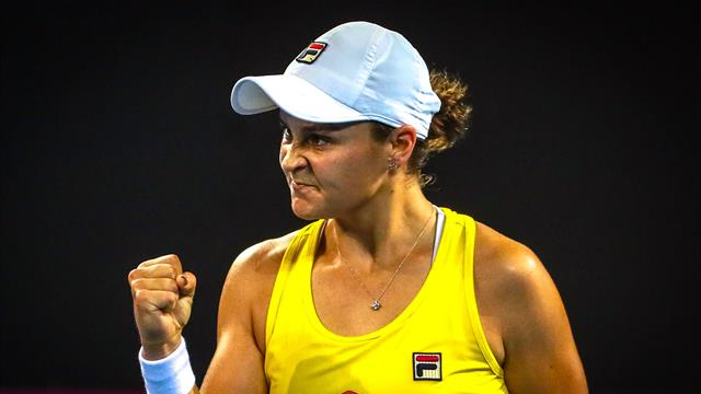 Barty levels Fed Cup semi for Australia