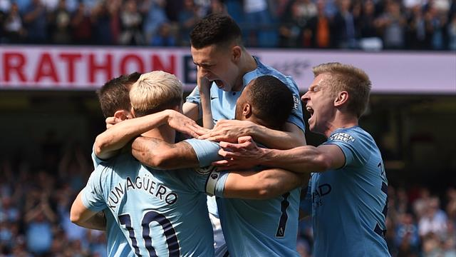 Manchester City avenge European exit to boost title hopes