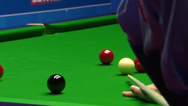 Mark Williams logra la primera Centena del torneo ante Gould