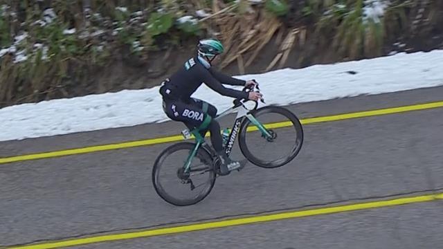 Sam Bennett impenna come Peter Sagan in salita al Giro di Turchia
