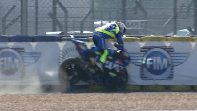 24 Horas de Le Mans: El recto de Vincent Philippe que acabó con la moto en el suelo